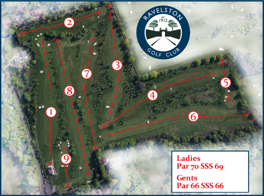 Ravelston Golf Course Map & Layout